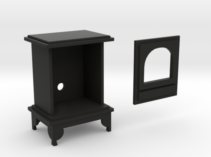 1:12 scale Woodburning Stove 3d printed
