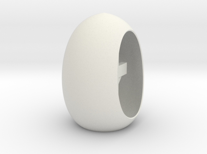 Easter Cross N Halo Inside A Tea Light Egg 3d printed