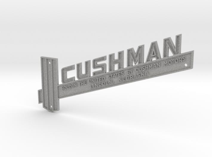 Vespa Cushman Emblem/Name Plate Piaggio #92628 3d printed