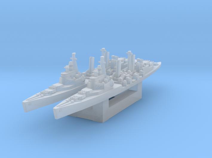 HMS Belfast 1/4800 3d printed