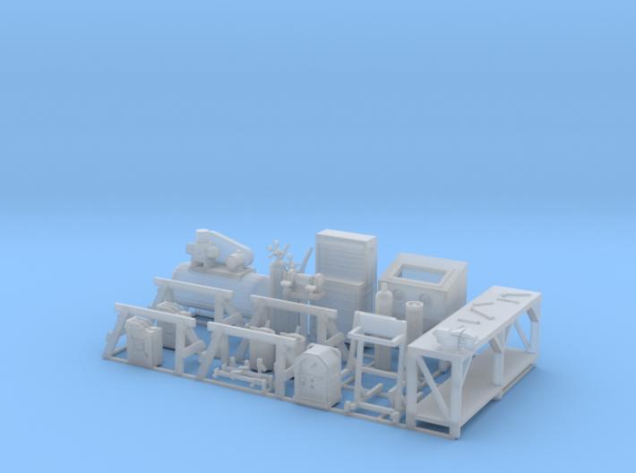 Boat Shop details 3d printed