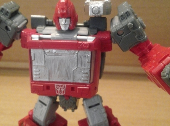 TF WFC Siege - Ironhide's Arsenal 3d printed