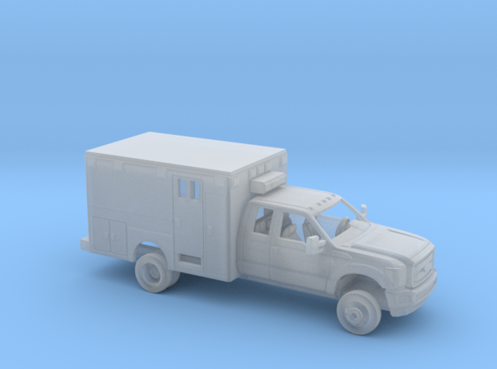 1/160 2011-16 Ford F Series Ext Cab Ambulance Kit 3d printed