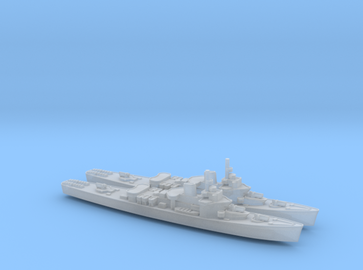 USCGC Taney x2 1/3000 3d printed