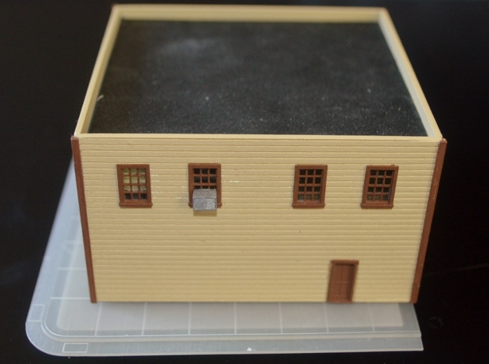 N-Scale Five & Dime Foundation 3d printed Production Sample w/ Five & Dime kit (NOT included)
