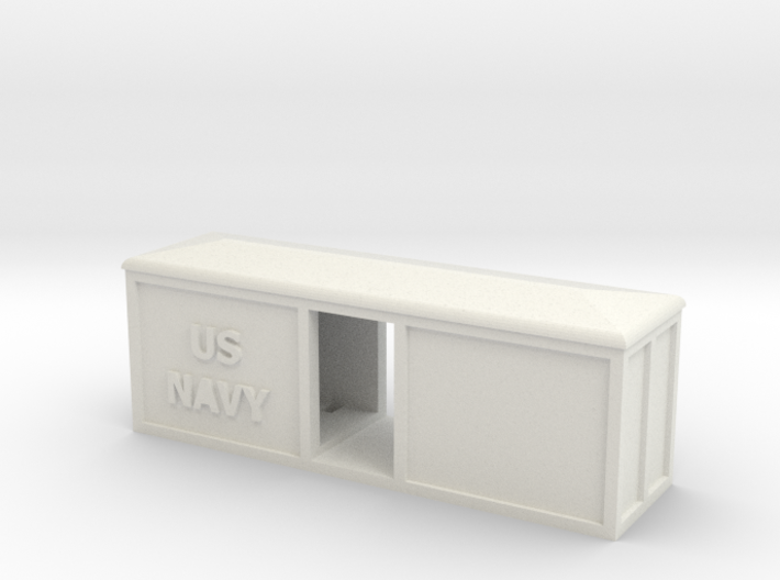 US NAVY BOX CAR 3d printed