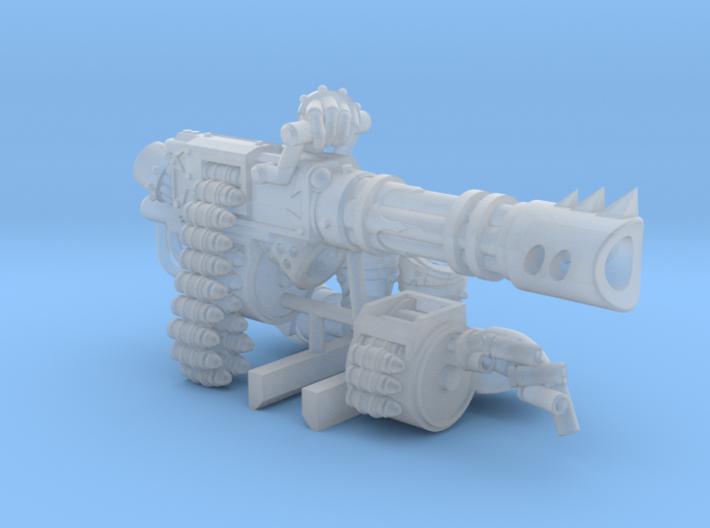 Base - Mega Chaos Ripcannon w/Arms 3d printed