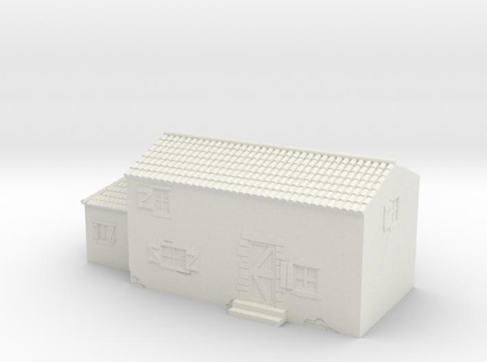Italian style house 1/100 3d printed