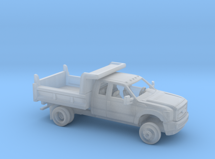 1/87 2011-16 Ford F Series Ext Cab Dump Kit 3d printed