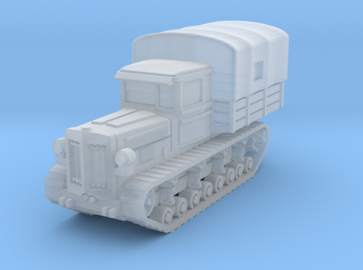 Komintern tractor (covered) scale 1/285 3d printed