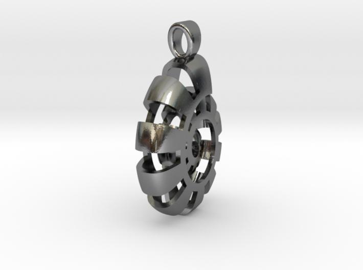 Metaloid fossil [pendant] 3d printed