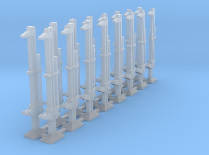 Set of 16 - Hi-Lift Off-road jack 3d printed