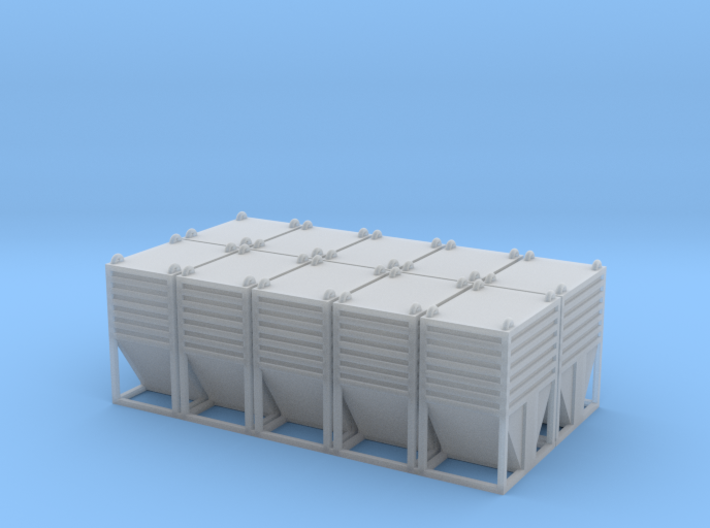 Dolomite Container Set - HOscale 3d printed