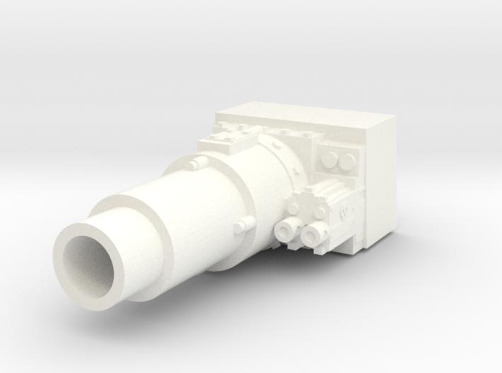 28mm short gun for tank 3d printed