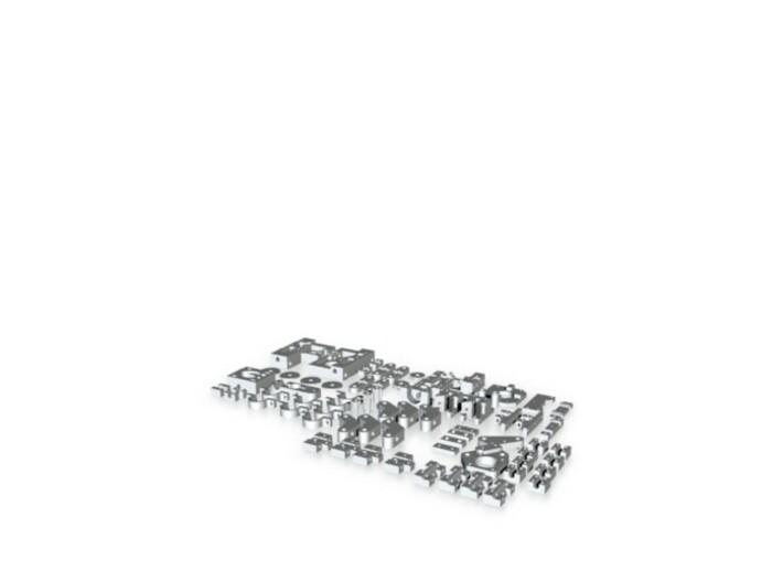 Mini mendel sheet 3d printed
