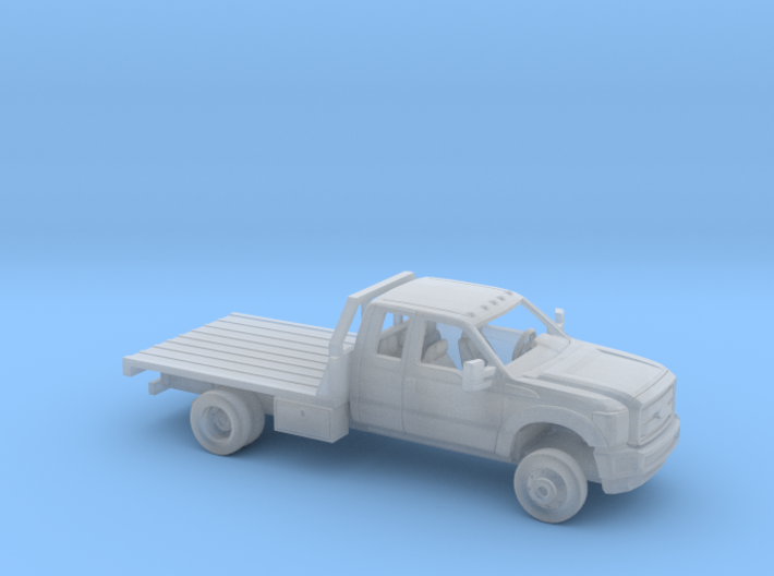 1/160 2011-16 Ford F Series Ext Cab Flatbed Kit 3d printed