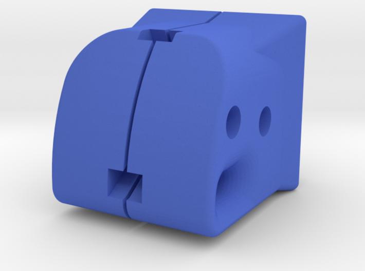 TeleScopix Shoulder Stock Adapter for Nerf Kronos 3d printed