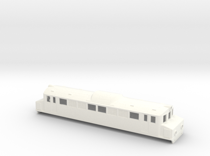 Swedish SJ electric locomotive type Mg - H0-scale 3d printed