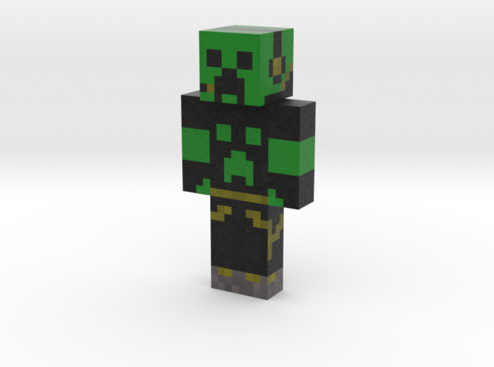 FighterCreeper1 | Minecraft toy 3d printed