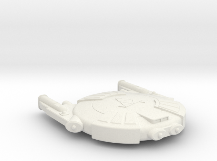 3125 Scale Andromedan Eel Scout SRZ 3d printed