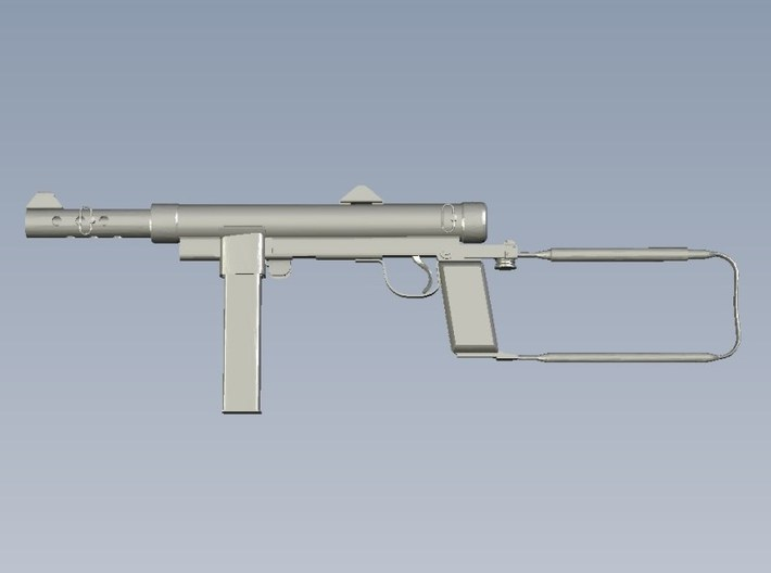 1/16 scale Carl Gustav M-45 submachinegun x 1 3d printed