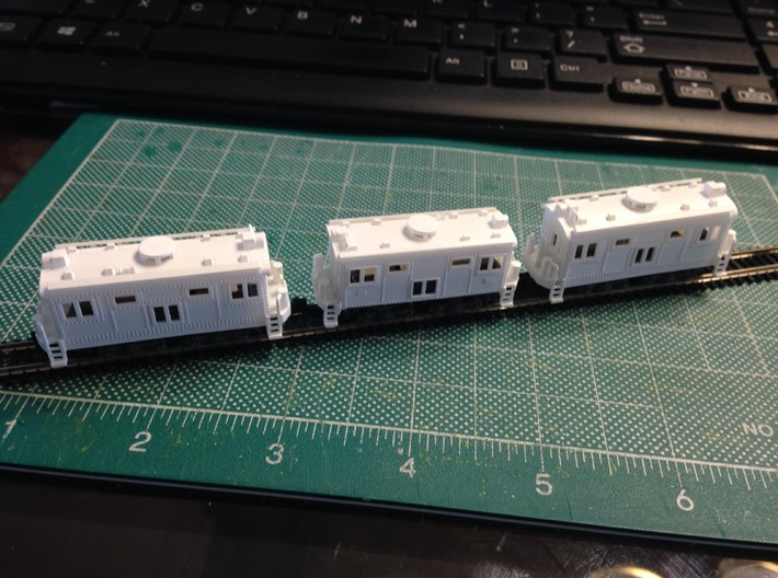 Boxcab Electric Diesel GE 289A Z scale 3d printed Box cab Engine Zscale