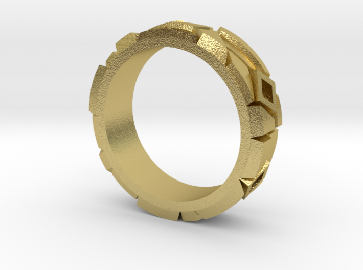 Contemporary Ring 3d printed