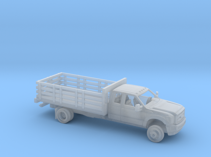 1/87 2011-16 Ford F Series Ext Cab Stakebed Kit 3d printed
