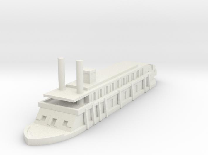 1/600 USS Rattler 3d printed