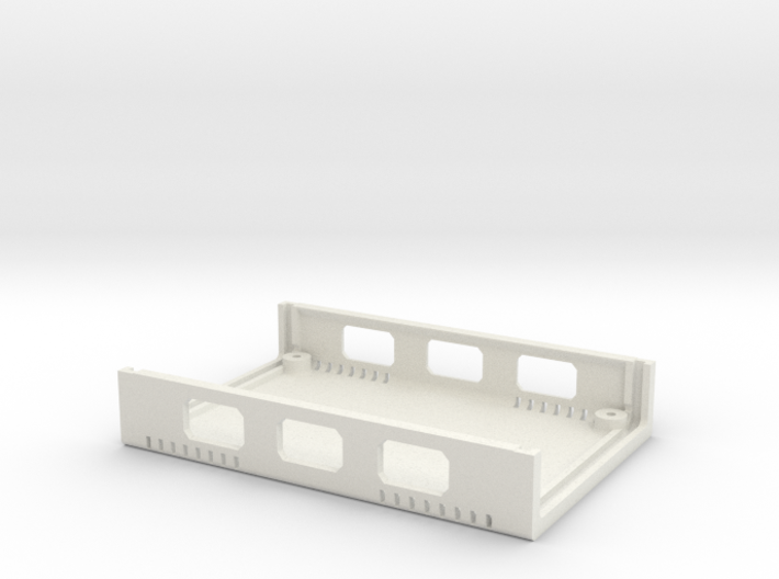 USB Sidecar for MiSTer XS Case Bottom (1/2) (v1.2) 3d printed