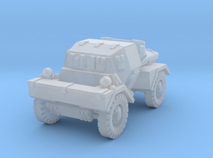 Daimler Dingo mk1 (closed) 1/220 3d printed
