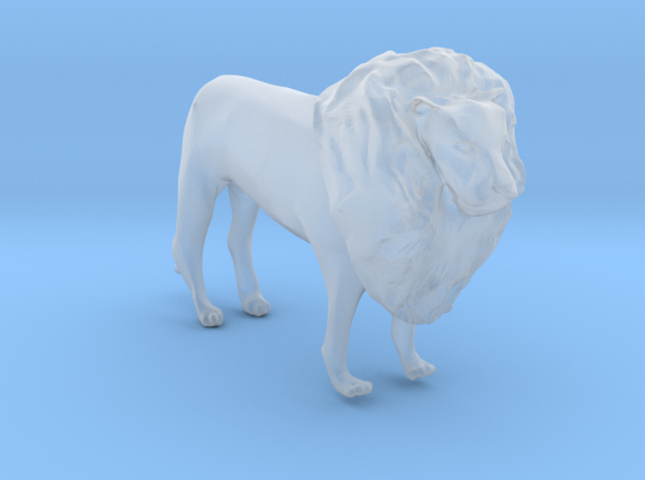 O Scale Lion 3d printed This is a render not a picture