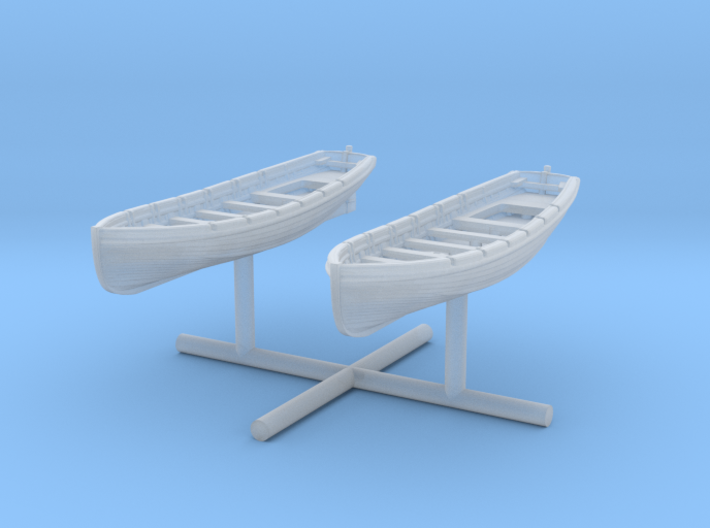 1/400 IJN 9m Cutter Set x2 3d printed
