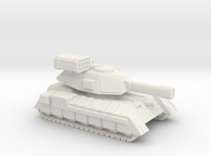 Terran Main Battle Tank, 1-piece. 3d printed