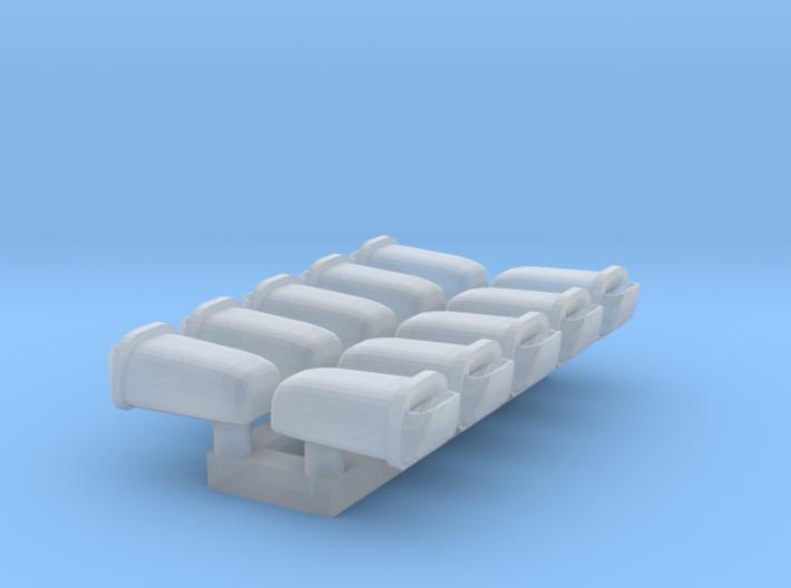 10 Abfallbehälter (N 1:160) 3d printed