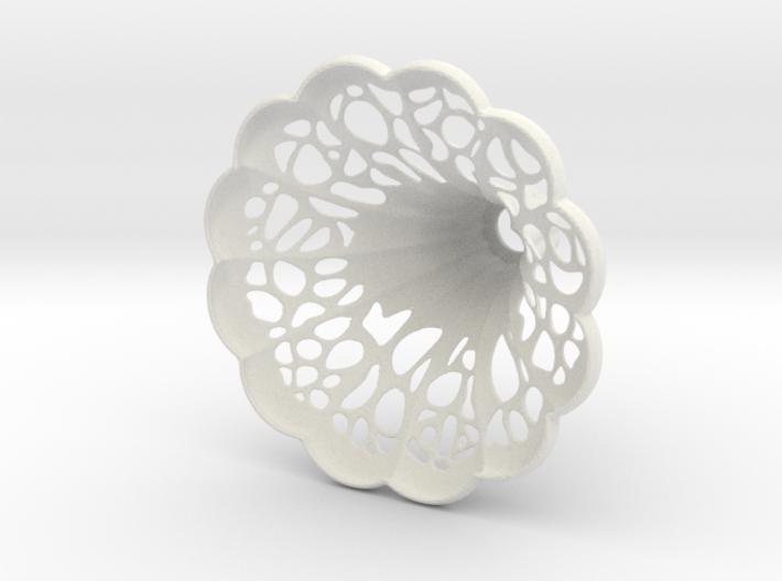 Gramophone Pendant Lamp Shade 3d printed