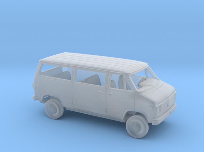 1/87 1971-77 Chevrolet G-Van Sliding Side Door Kit 3d printed