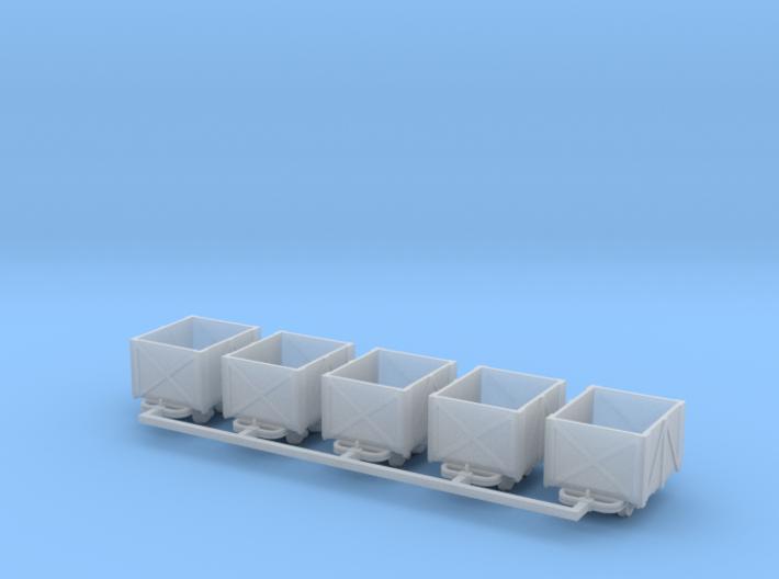 Torflore V1 5erSet - TTf 1:120 3d printed
