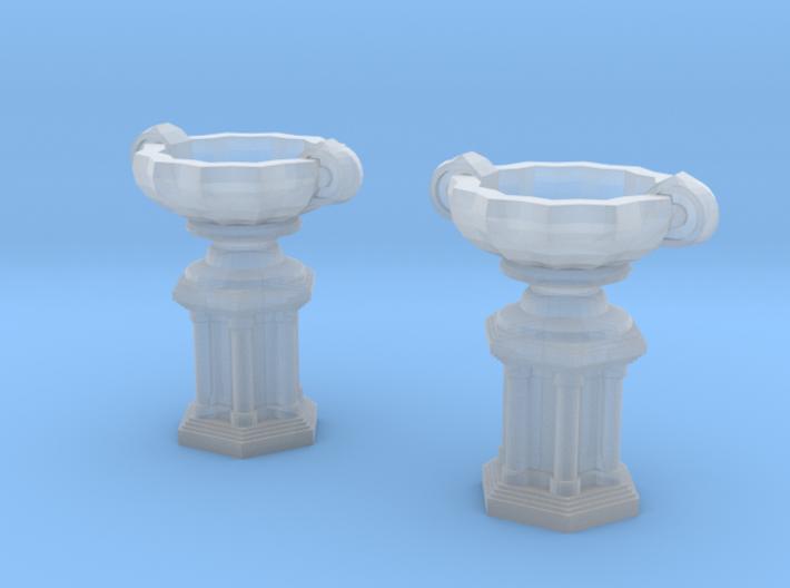 Garden vase (2x) (TT 1:120) 3d printed