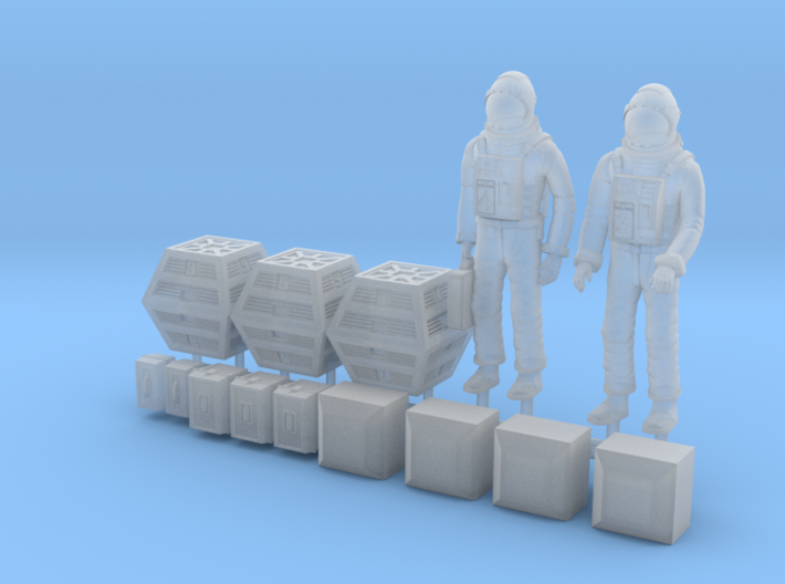 SPACE 2999 1/48 ASTRONAUT TWO SET 3d printed