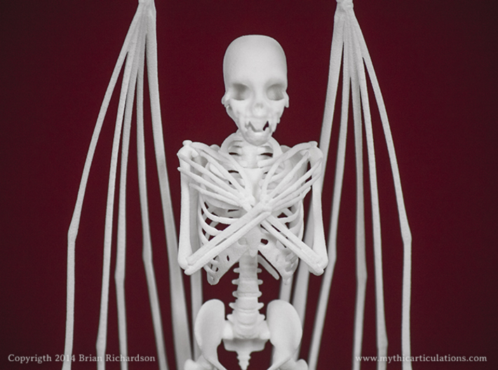 Vampire Skeleton 3d printed