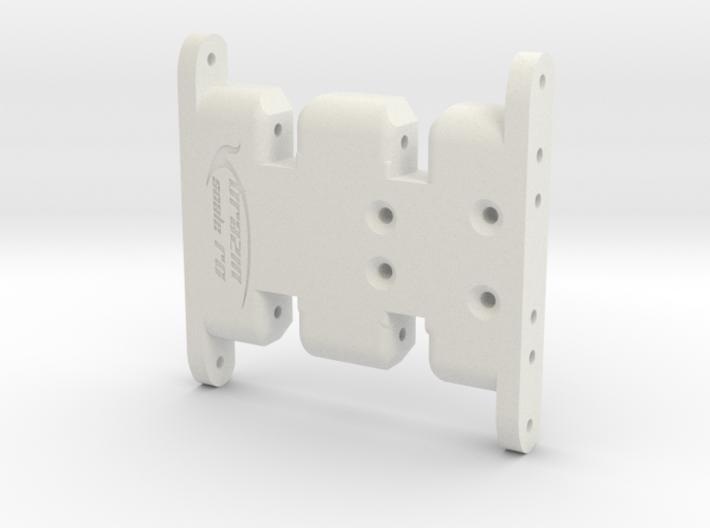 Axial SCX10 Flat Bottom Skid 3d printed