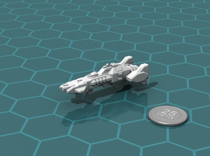 Union Heavy Cruiser 3d printed