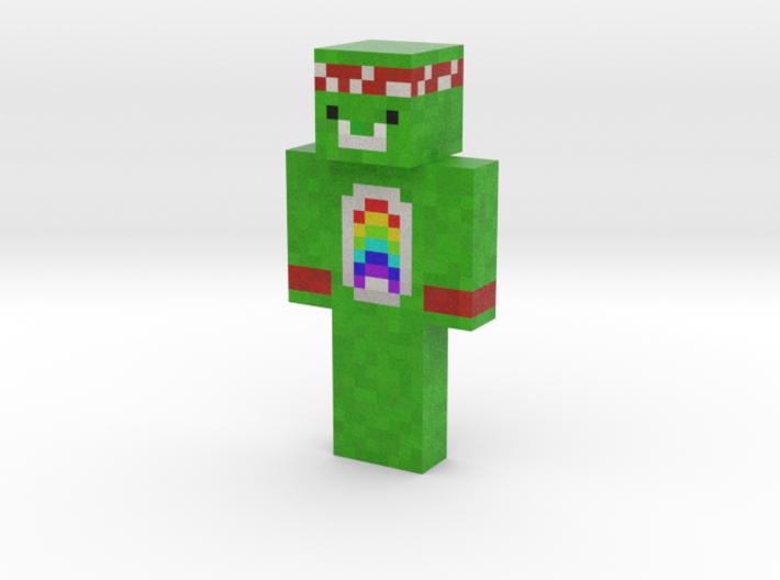 Bizounours_Halal   Minecraft toy 3d printed