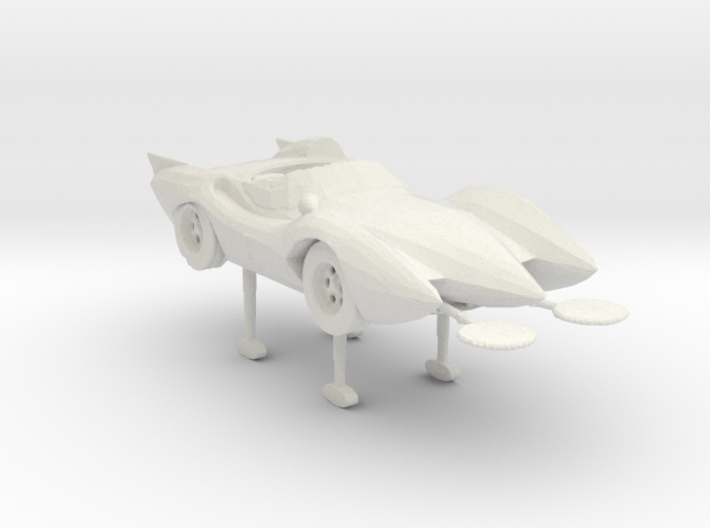 Mach 5 deploy mode 160 scale 3d printed