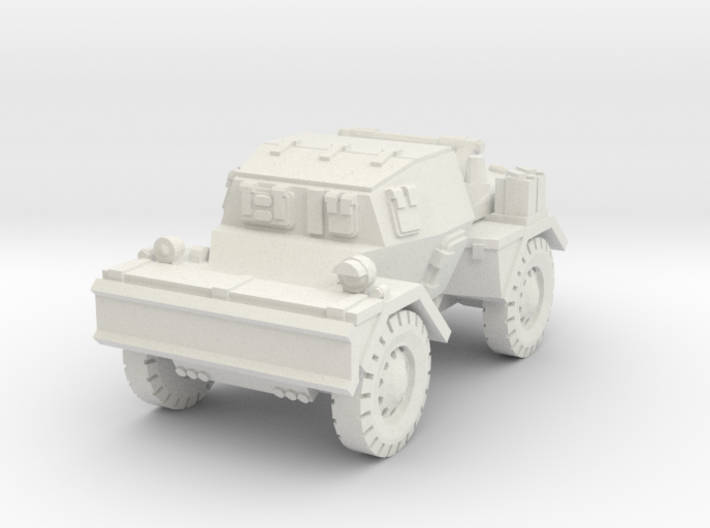 Daimler Dingo mk2 (closed) 1/87 3d printed