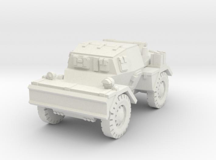 Daimler Dingo mk2 (closed) 1/56 3d printed
