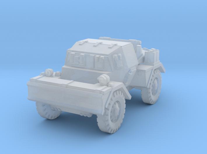 Daimler Dingo mk2 (closed) 1/120 3d printed