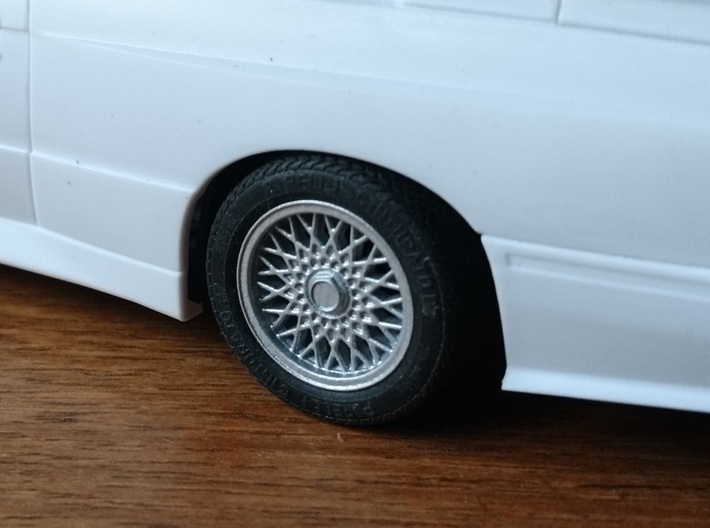 "Stock 15"" Wheel for M3 E30 3d printed"