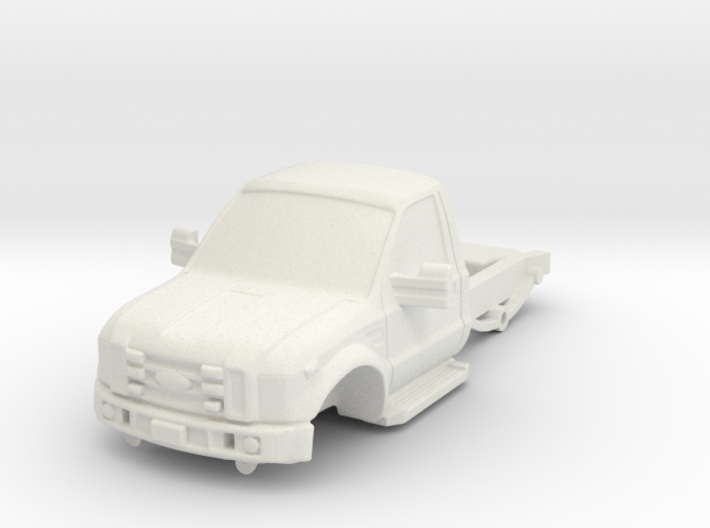 1/87 F450 Short Chassis 3d printed